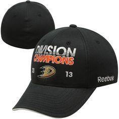 Reebok Anaheim Ducks Central Division Champions Locker Room Flex Hat - Black - $11.99