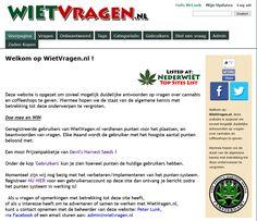 WietVragen.nl - Q&A over Cannabis/Wiet/Hennep & Coffeeshops