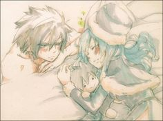Fairy Tail - Gray x Gruvia