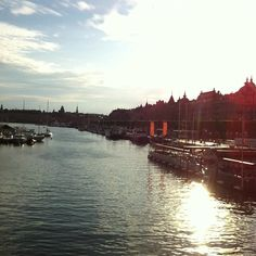 Beautiful evening in Stockholm, Sweden. Govago.com. #Travel.