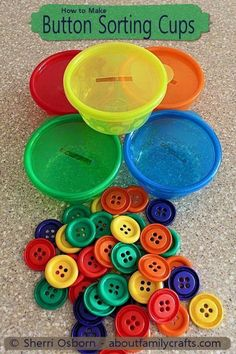 Color Sorting and Fine Motor Task