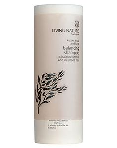 Balancing Shampoo: with nutrient rich kelp extract and recyclable packaging - BDIH certified | cosmetics . Kosmetik . cosmétique | Living Nature |