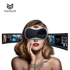 Amazon.com: WEAREVR VR Headset Virtual Reality Goggles For Smartphones Compatible With Smartphone: Home Audio & Theater