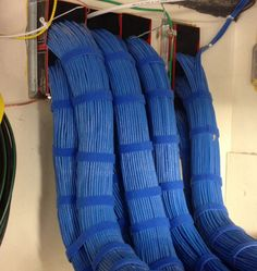 1300 station cables that I dressed coming into the IDF.