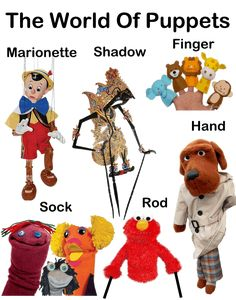 TYPES OF PUPPETS - Google Search