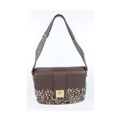 Tod's Women's Leopard Handbag with Adjustable Shoulder Strap