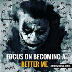 Focus on becoming........... For more Motivational and Realistic Quotes Follow @motivational_joker_ Follow @motivational_joker_ Follow @motivational_joker_ ____________________________________________________________________________________________ Turn on POST NOTIFICATION ____________________________________________________________________________________________ #Joker #HeathLedger #ConradVeidt #CesarRomero #JackNicholson #MarkHamill #JaredLeto #killingjoke #themanwholaughed #fran