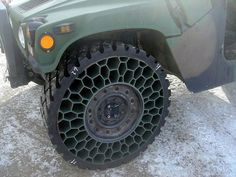 Airless Tires: Zombie-Proof Tires Concept