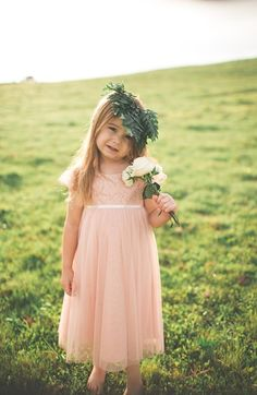 Jenny Yoo 'April' Lace & Tulle Dress (Toddler, Little Girls & Big Girls) available at #Nordstrom