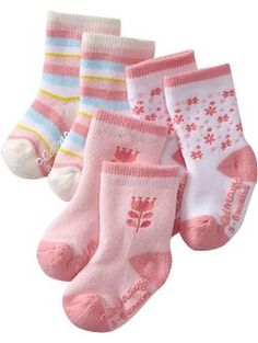 We're loving these old navy baby socks. they are so thick and soft and cozy and stretchy. They stay on good and are tall so no cold leg gaps!