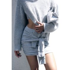 sweater in skirt