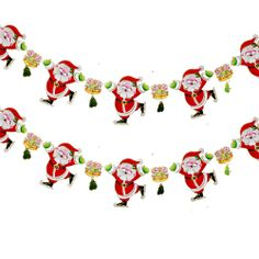 Featured. Xmas Decoration In Your Small House Ideas: Chic Santa Figure Strand Ideas For Modern Xmas Decoration For Your Window ~ iiDudu