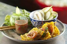 Banh khoai (Hue-style banh xeo?)