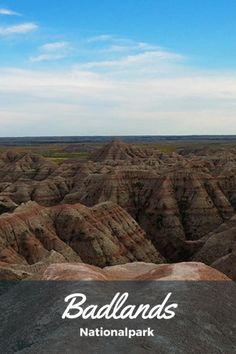 Badlands Nationalpark, South Dakota, USA