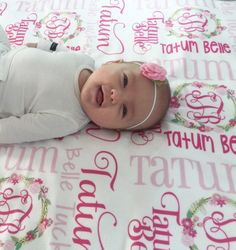 Girl Baby Blanket - Name Blanket - Personalized Baby Blanket - Coming Home  Outfit - Monogram 44a4c4af5a22