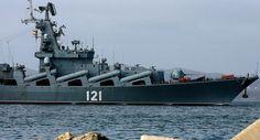 Buque lanzamisiles ruso Moskva