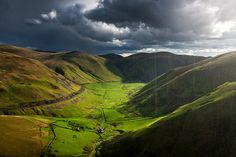 A rain squall over Dalveen Pass in Upper Nithsdale, Dumfries and Galloway, Scotland. Scotland Landscape, The Places Youll Go, Landscape Photography, Beautiful Places, Scenery, Rain, Adventure, Mountains, Travel