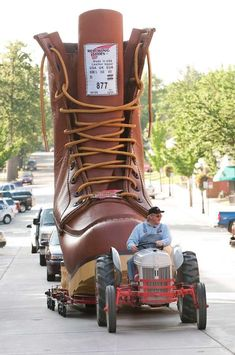 World's largest boot @Tammy Thompson Shaffer