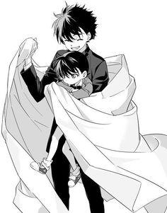 Kaito Kuroba and Conan