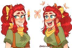 Daisy from Camp Camp