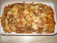 Tonhalas rakottas recept Lasagna, Breakfast, Ethnic Recipes, Food, Drink, Morning Coffee, Beverage, Essen, Meals
