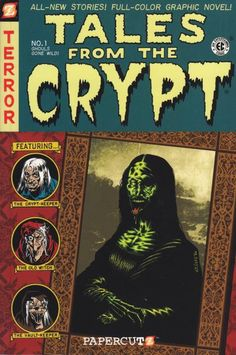 GCD :: Cover :: Tales from the Crypt: Graphic Novel - Ghouls Gone Wild! Ec Comics, Horror Comics, Horror Art, Creepy Comics, Horror Books, Comic Book Covers, Comic Books Art, Comic Art, Book Art