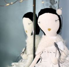 Jess Brown - Snow Flake Doll