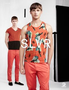 adidas SLVR SS13 Campaign by Willy Vanderperre