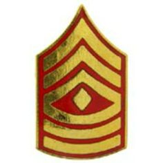 "U.S.M.C. E8 1st Sergeant Pin 3/4"" by FindingKing. $8.99. This is a new U.S.M.C. E8 1st Sergeant Pin 3/4"""