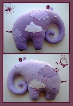 Фиолетовый слоник – как сшить такую мягкую игрушку своими руками. Комментарии : LiveInternet - Российский Сервис Онлайн-Дневников