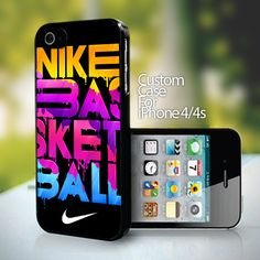 10811 Nike Basketball design for iPhone 4 or 4s case