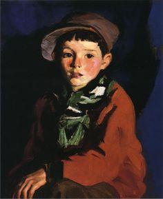 'Listening Boy', 1924 - Robert Henri