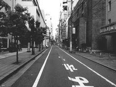 #Street #Monochrome #Streetphotography in Osaka, Japan, May 6, 2014 | EyeEm