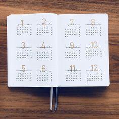 bullet journal bujo planner ideas for weekly sprea. Bullet Journal Inspo, Future Log Bullet Journal, Bullet Journal Planner, Bullet Journal Minimalist, Bullet Journal Headers, Bullet Journal Themes, Bullet Journals, Calendar Journal, Bullet Journal Numbers