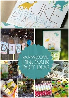 Dinosaur Birthday Party Ideas www.spaceshipsandlaserbeams.com