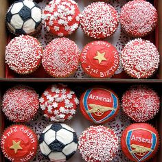 Arsenal_cupcakes