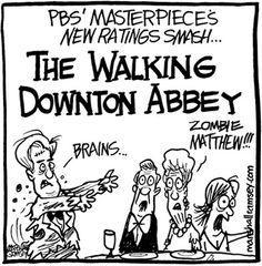 This season on Downton Abbey