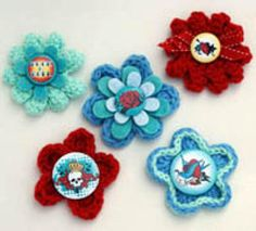 Learn How to Crochet with These Free Tutorials: Tutorials for Crocheting Flowers