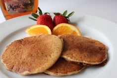 Here is a great recipe using sourdough starter, making these pancakes easily digestible. They are super easy to make and taste amazing! Recipe Using Sourdough Starter, Sourdough Recipes, Whole Food Recipes, Great Recipes, Favorite Recipes, Sourdough Pancakes, Sourdough Bread, Recipes With White Flour, Healthy Snacks