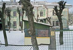 Schoolhouse, Serpuxov, Russia, from Remains, Photo by Sasha Rudensky