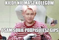 Read from the story Memy BTS by (Gabriela Mokrzan) with 323 reads. K Meme, Funny Kpop Memes, Wtf Funny, Bts Memes, Polish Memes, I Love Bts, My Prince, Read News, Funny Pictures