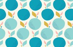 Apples Pattern for PaperCraft Magazine by Rachel Cave