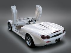 The Orochi, 2001 concept car by Mitsuoka: The supercar's serpentine lines were designed with an eight-headed snake from Japanese mythology in mind.