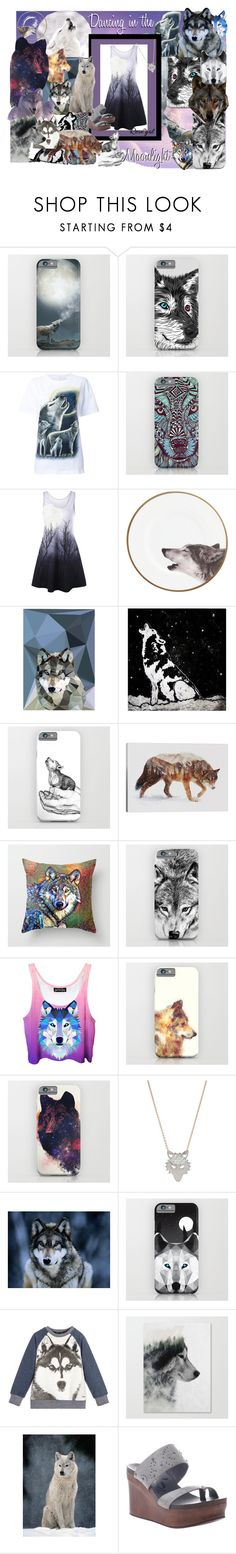 """Dancing in the Moonlight"" by cinpet ❤ liked on Polyvore featuring WALL, Studio Cockatoo, iCanvas, Ginette NY and OTBT"