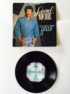 #Lionel richie #hello #record rare 1983,  View more on the LINK: 	http://www.zeppy.io/product/gb/2/121986874195/