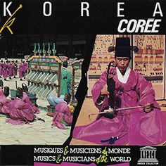 This 1972 recording features Korean court music, or hyang-ak, which was codified in the 5th century. Hyang-ak is essentially pentatonic and is derived from a type of sung poetry. Vocal performances are accompanied by a variety of Korean string, wind, and percussion instruments. Percussion, Musicals, Instruments, Poetry, Korean, Album, Type, Movie Posters, Korean Language