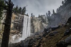 Where are there falls more stoic than Vernal Falls? | 32 Reasons California Is The Most Beautiful State In The Country