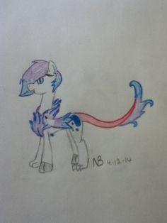 Gemstone's true form! By Nellie Brown @Pony Fun @Rainbow Dash