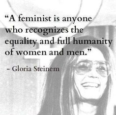 this is what a successful feminist is