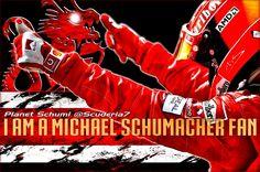 I am a Michael Schumacher fan... #ProudToBeASchumiFan #KeepFightingMichael #GetWellSoonSchumi #ForzaMichael